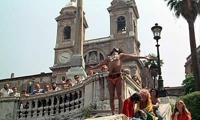 Una scena del film Roma del maestro Federico Fellini