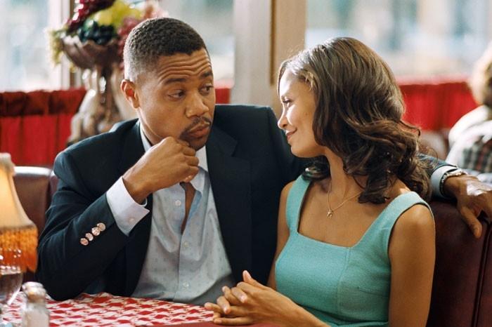 Cuba Gooding Jr. e Thandie Newton in una scena del film Norbit