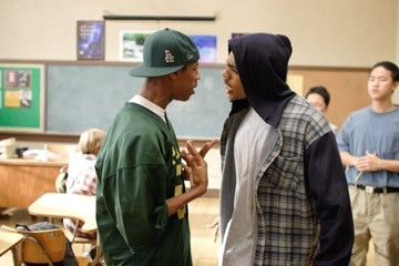 Mario e Deance Wyatt in una scena del film Freedom Writers