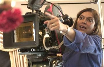 Mira Nair sul set di The Namesake