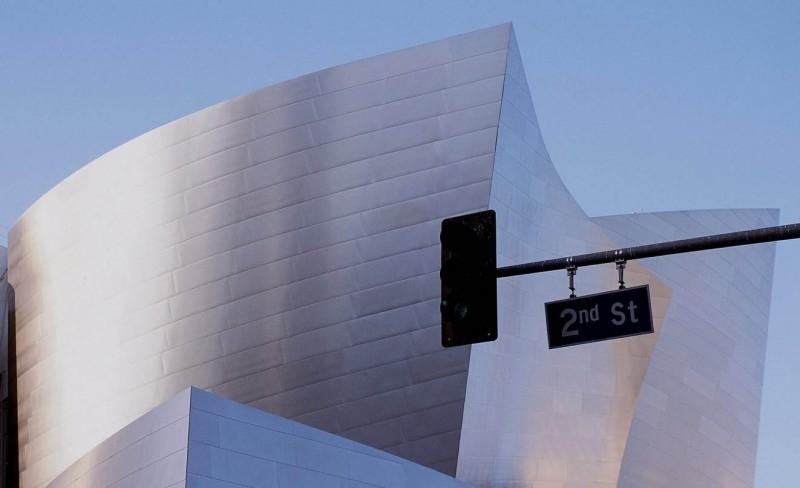 Una scena del film Frank Gehry - Creatore di sogni