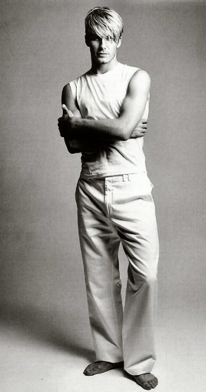 Un'immagine di David Beckam