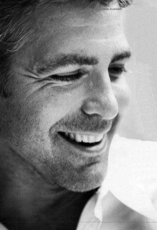 un bel ritratto di George Clooney