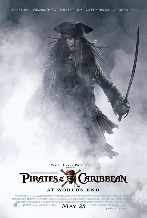 La locandina di Pirates of the Caribbean: At Worlds End