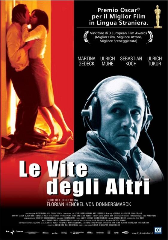 La locandina italiana di Das Leben Der Anderen