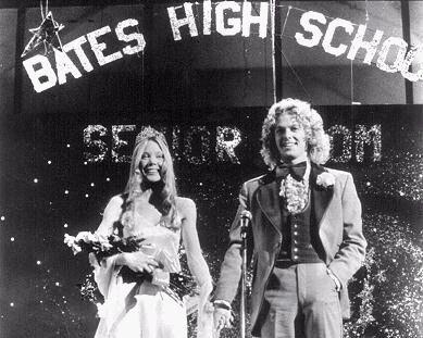 Sissy Spacek e William Katt in una scena di Carrie