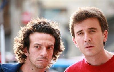 Il duo Salvatore Ficarra e Valentino Picone in una scena del film Il 7 e l'8