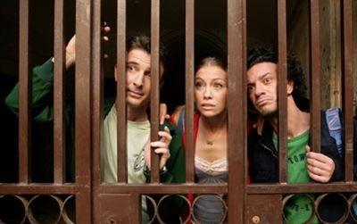 Salvatore Ficarra, Valentino Picone e Eleonora Abbagnato in una scena del film Il 7 e l'8