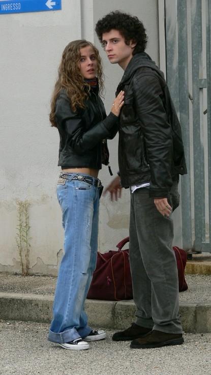 Andrea Samà e Mary Petruolo in una scena de 'Il segreto di Arianna'