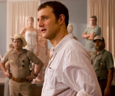 David Morrissey in una scena del film I segni del male