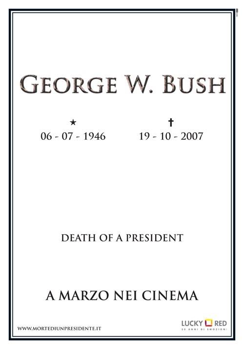 La locandina italiana di Death of a President