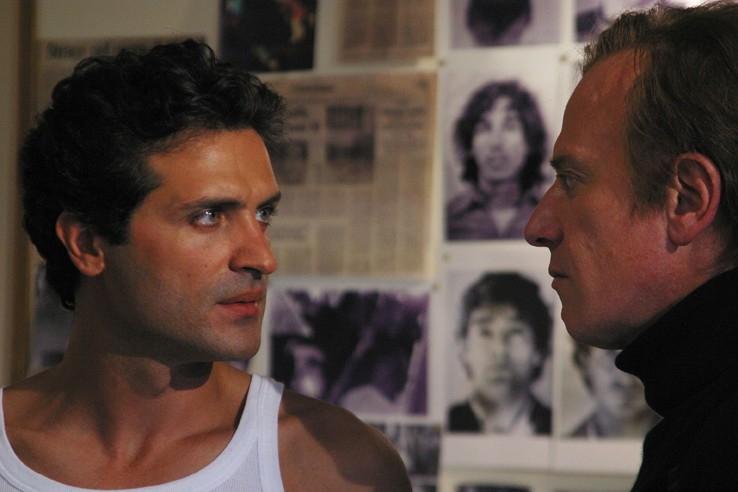 Lazzaro e Castellano in una scena de 'Il segreto di Arianna'