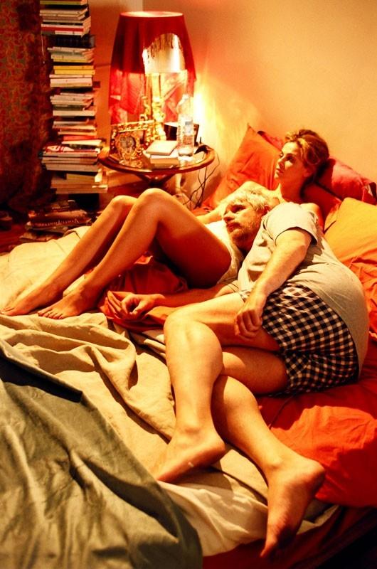 Ricky Tognazzi con Vanessa Incontrada in una scena di Tutte le donne della mia vita
