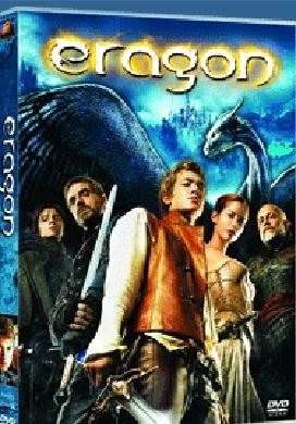 La copertina DVD di Eragon