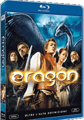 La copertina DVD di Eragon (Blu-Ray)