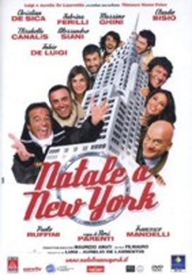 La copertina DVD di Natale a New York