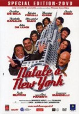 La copertina DVD di Natale a New York - Edizione speciale