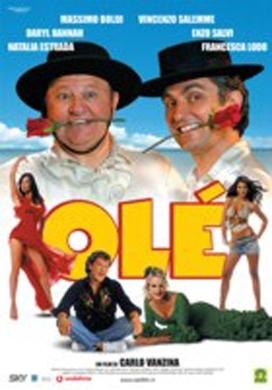 La copertina DVD di Olè