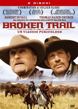 La copertina DVD di Broken Trail