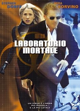 La copertina DVD di Laboratorio mortale