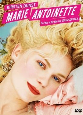 La copertina DVD di Marie Antoinette