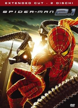 La copertina DVD di Spider-Man 2.1