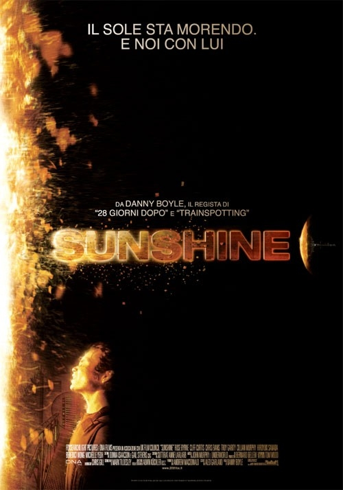 La locandina italiana di Sunshine