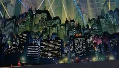 Una sequenza del film Akira