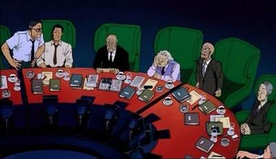Una scena del cult d'animazione Akira