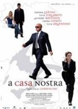 La copertina DVD di A casa nostra