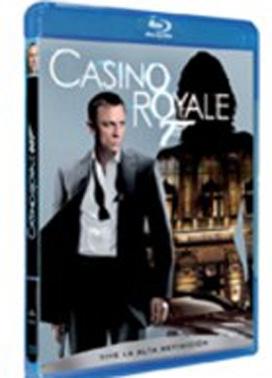 La copertina DVD di Casino Royale (Blu-Ray)