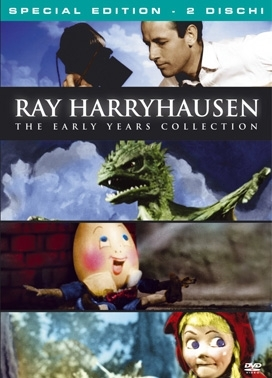 La copertina DVD di Ray Harryhausen - The early years collection