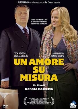 La copertina DVD di Un amore su misura