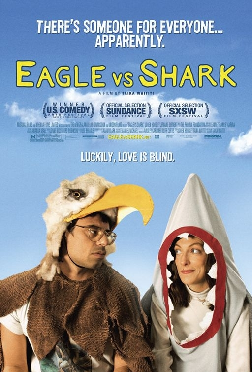 La locandina di Eagle vs Shark