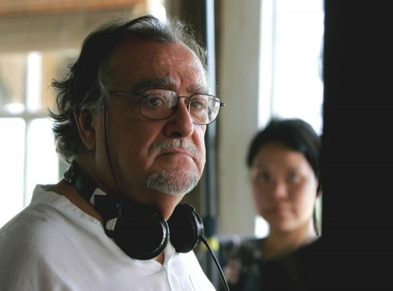 Lamberto Bava sul set del film Ghost Son