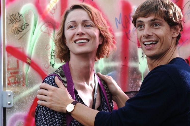 Magdalena Grochowska  e Giorgio Pasotti in una scena del film Voce del verbo amore