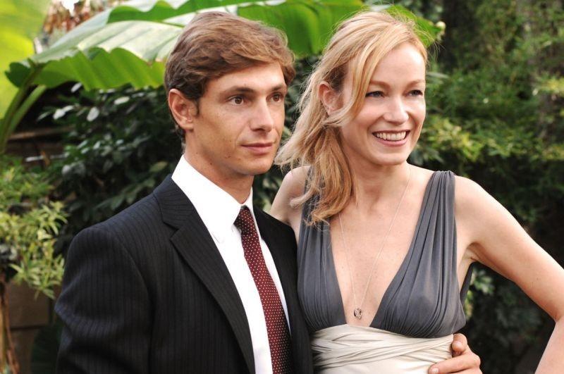 Stefania Rocca con Giorgio Pasotti in una scena del film Voce del verbo amore