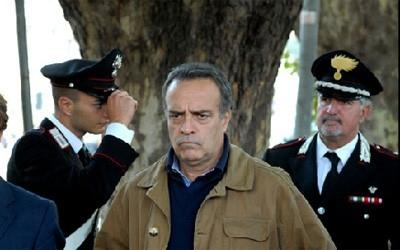 Enrico Montesano in una sequenza del film Il Lupo