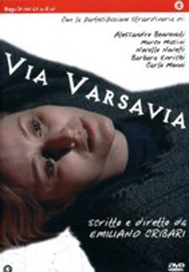 La copertina DVD di Via Varsavia