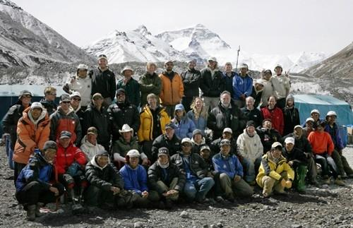 Una scena di 'Everest: oltre il limite'