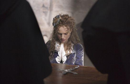 Natalie Portman in una scena del dramma L'ultimo inquisitore