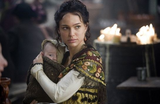 Natalie Portman in una immagien del film L'ultimo inquisitore