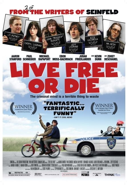 La locandina di Live Free or Die