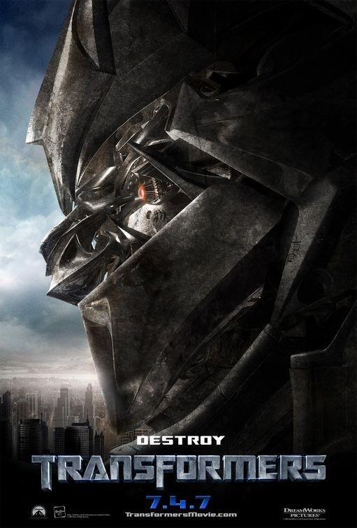 Una locandina di Transformers