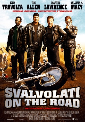 La locandina italiana di Svalvolati on the road