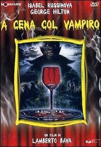 La copertina DVD di A cena col vampiro