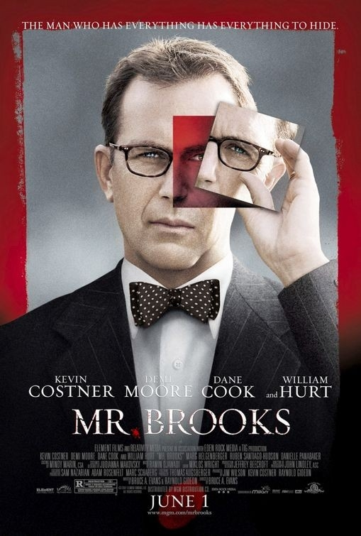 La locandina di Mr. Brooks con Kevin Costner