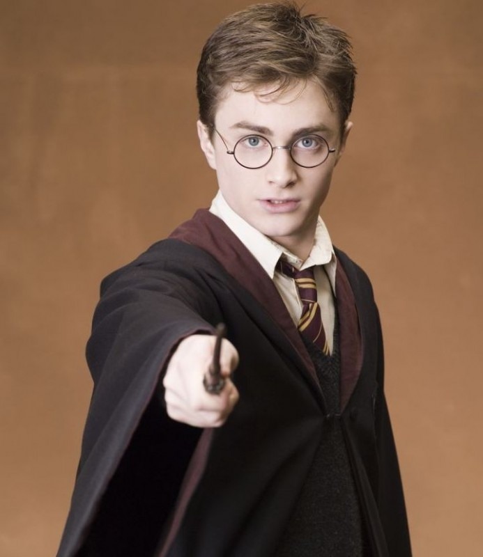 Daniel Radcliffe in una foto promozionale del film Harry Potter e l'Ordine della Fenice