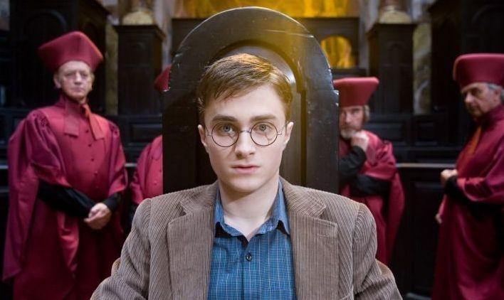 Daniel Radcliffe in una scena di Harry Potter e l'Ordine della Fenice