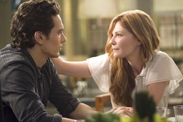 Kirsten Dunst e James Franco  in una scena di Spider-Man 3